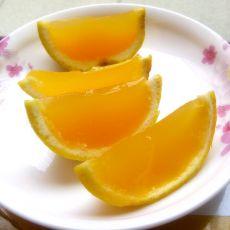香橙果冻――能剥着吃的果冻