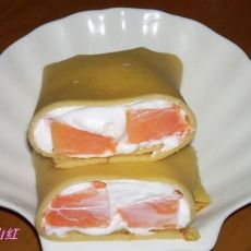 豆浆版的木瓜班戟的做法