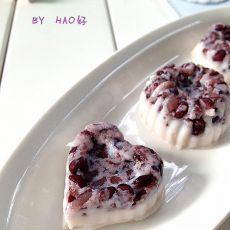 黑米薏仁奶冻的做法