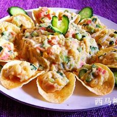 薯片土豆沙拉