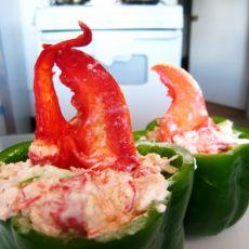 龙虾沙拉杯