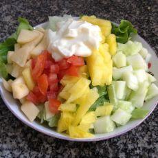 水果蔬菜沙拉的做法