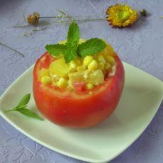 柠香玉米沙拉的做法