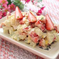土豆草莓沙拉