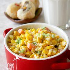 芥味玉米沙拉的做法