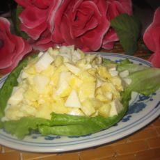 菠萝苹果酸奶沙拉