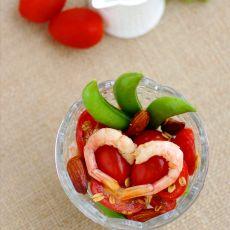 番茄鲜虾沙拉