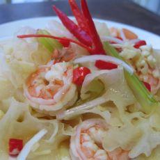 泰式鲜虾银耳沙拉