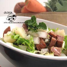 牛肉粒土豆沙拉的做法