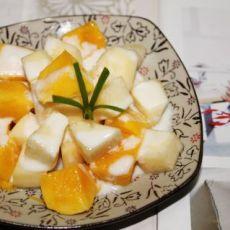 芒果啤梨沙拉