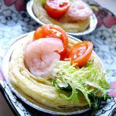 酥皮沙拉的做法