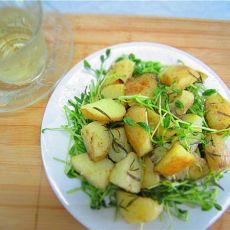 芽菜土豆沙拉的做法