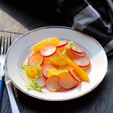 甜橙水萝卜沙拉