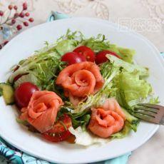 三文鱼沙拉