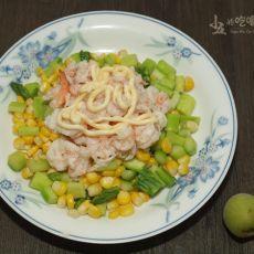 芦笋沙拉的做法步骤