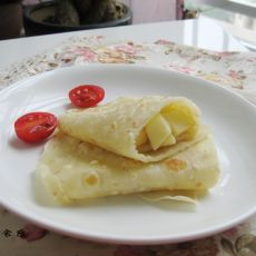 苹果沙拉早餐饼
