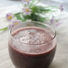 杏仁紫米饮的做法