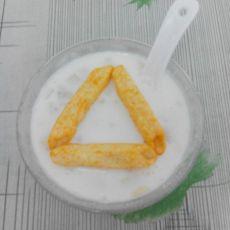 香蕉果粒酸奶