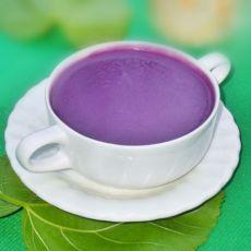 紫薯米浆的做法