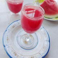冰镇西瓜汁的做法