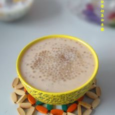 板栗奶茶西米露的做法步骤