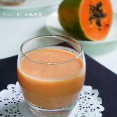 木瓜鲜奶露