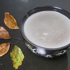 核桃黑芝麻糯米豆浆