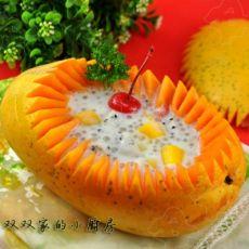 椰浆西米水果捞