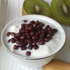 蜜红豆酸奶