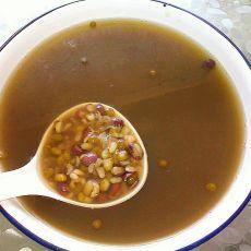 红豆薏米绿豆饮