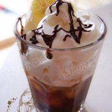 香蕉摩卡冰咖啡