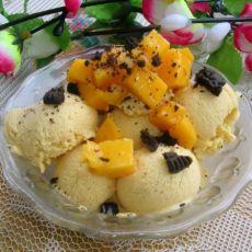 芒果冰淇淋DIY