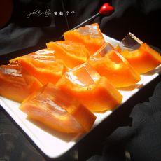 木瓜凉粉冻