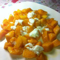 芒果酸奶冰