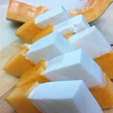 木瓜椰果冻