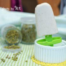 绿豆奶油冰棒的做法