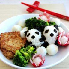 熊猫猪扒饭
