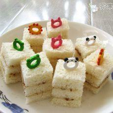 糖桂花三明治的做法