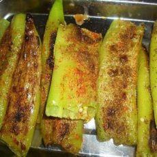 烤青椒的做法