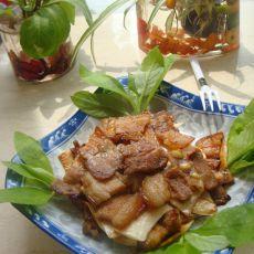 杏鲍菇烤五花肉