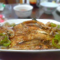 烤罗非鱼的做法