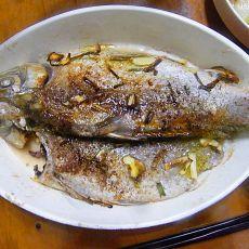光波炉烤鱼的做法