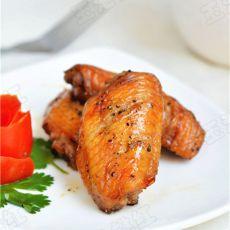 黑椒烤鸡翅的做法