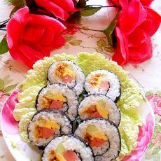 芝士肉松寿司―米饭的华丽升级
