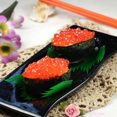 鱼子酱寿司―补脑佳品