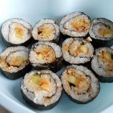 小黄瓜素食寿司