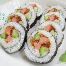 墨鱼仔寿司卷