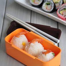 虾球寿司的做法
