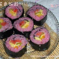 樱花色寿司的做法
