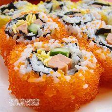 山寨版蟹籽寿司
